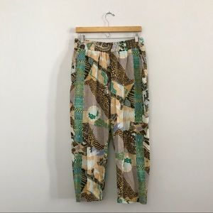 Gravel & Gold Tamboro Volta Pants Printed Beach C1